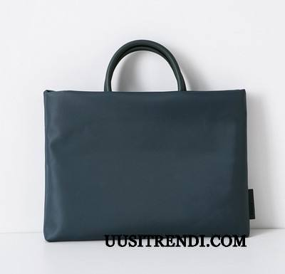 Käsilaukut Miesten Tarjous Liiketoiminta Suuri Kapasiteetti Suuntaus Lompakko Käsilaukku Sininen