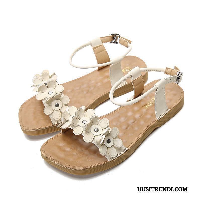 Sandaalit Naisten Verkossa Rannalle Kesä Kengät Kaikki Ottelut Tasainen