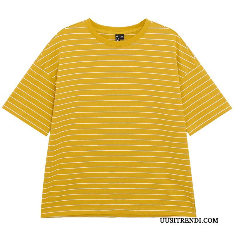 T-paidat Naisten Osta Kesä Löysät Uusi Leggingsit Naisille Keltainen